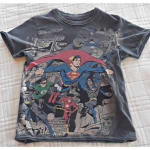 Super hero kids tee